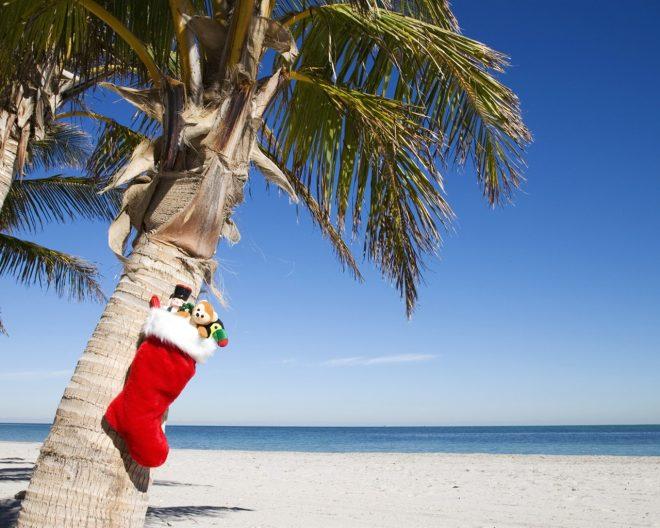 Кубинский пляж в Новый Год