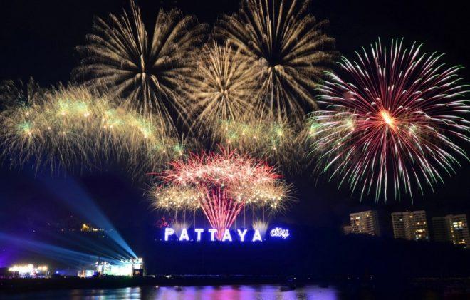 новый год в Паттайя