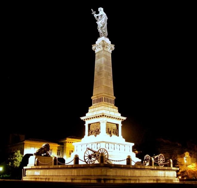 Памятник свободе в Русе, Болгария