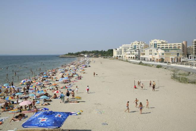 Пляж города Поморие