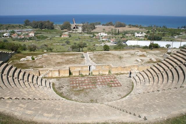 Руины древнего города Соли