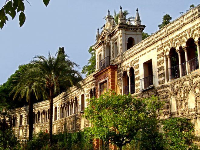 Дворец Альказар 1