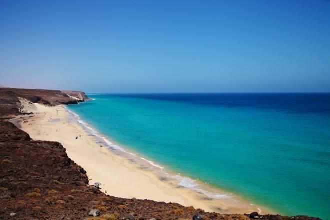 пляж Costa Calma, рай для виндсерферов