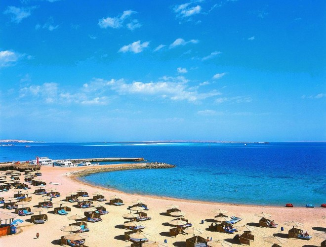 Хургада пляж