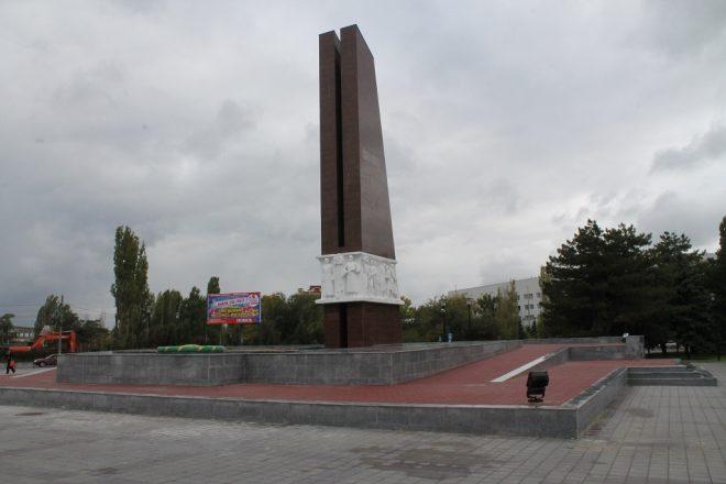 Мемориал «Павшим за Родину» в Азове