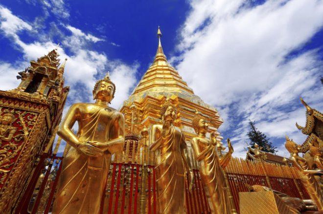Монастырь Ват Пратхат Дой Сутхеп