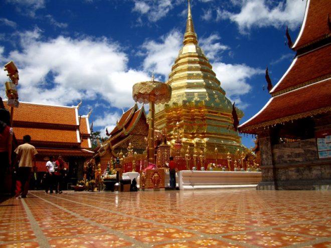 Монастырь Ват Пратхат Дой Сутхеп1