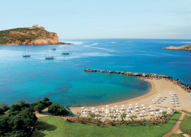 Пляж вблизи Афин