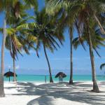 Белый пляж на острове Занзибар