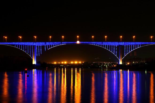 Аспарухов мост. Варна. Болгария