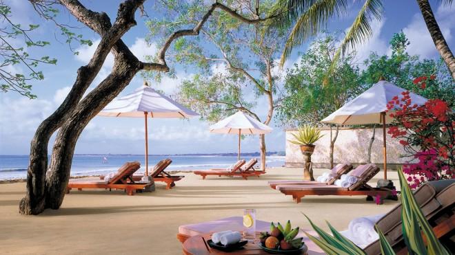 Райский пляж на Бали