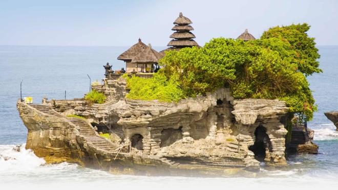 Индуистский храм, одна из основных достопримечательностей Бали