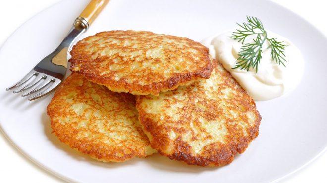 Традиционные белорусские драники из картофеля