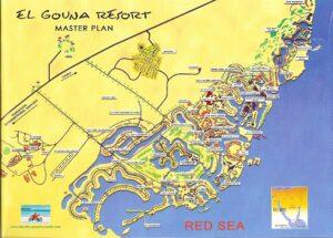 Карта Эль Гуны. Египет