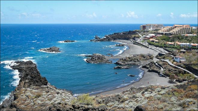 Пляж Канкайос (Cancajos) Остров Ла Пальма