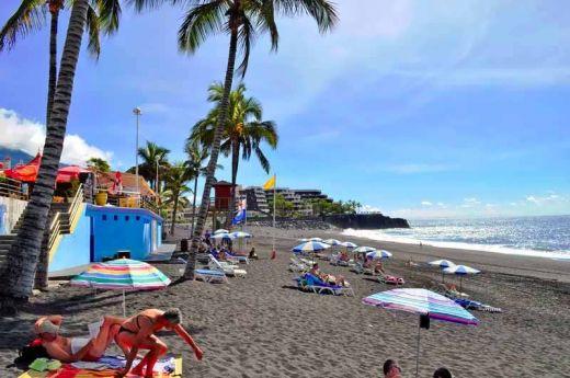 Пляж Пуэрто Наос. Остров Ла пальма