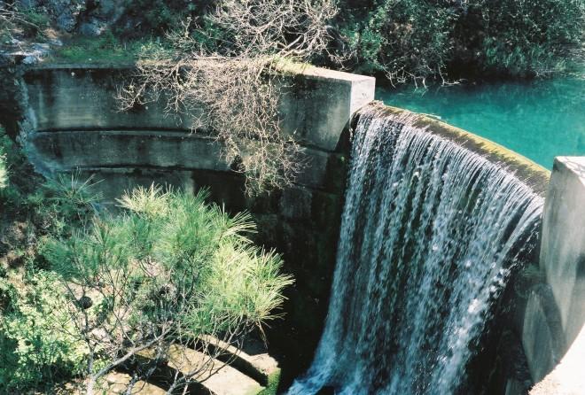 водопад на 7 источниках Родоса