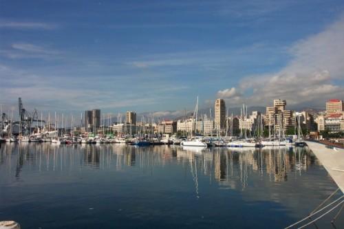 Вид на город Санта Крус де Тенерифе