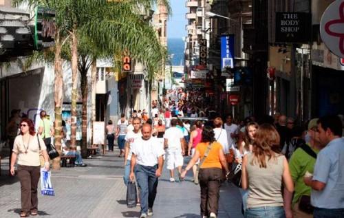 Улицы городка Санта Крус на Тенерифе