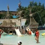 Пиратский корабль Фалираки Родос
