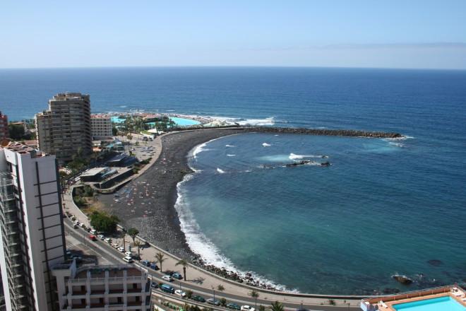 Пляж Пуерто де ла Круз на Тенерифе