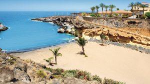 Пляж playa paraiso на Тенерифе