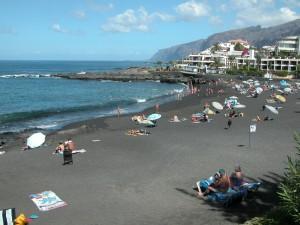 Пляж Плайя де ла Арена Тенерифе